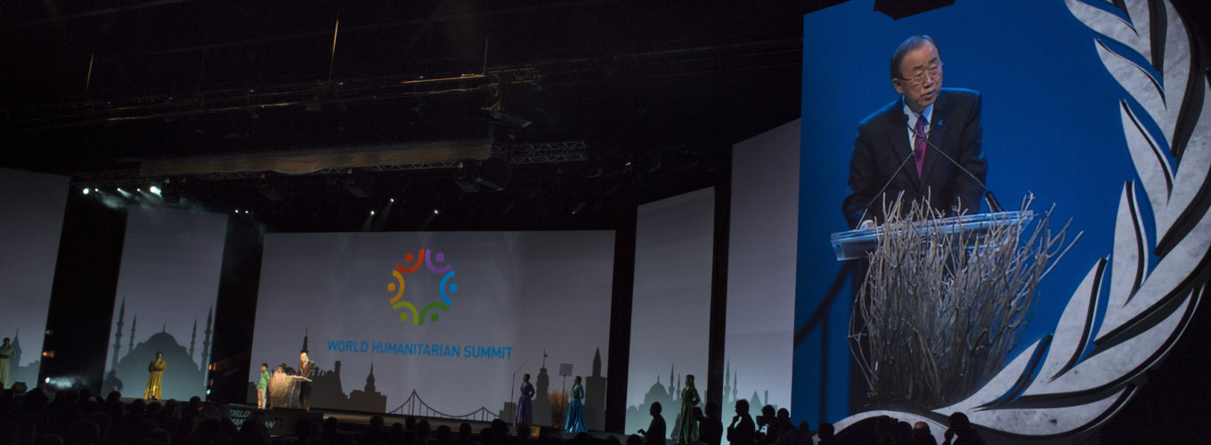 Secretary-General Ban at Opening Ceremony of the World Humanitarian Summit